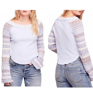 Free People Fairground Thermal in Sky